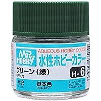 【水溶性アクリル樹脂塗料】水性ホビーカラー H6 グリーン (緑)