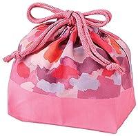 竹中 日本製 竹中 巾着袋 キャンディポップ ランチ巾着 ピンク T-76377