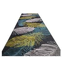 ZEMIN 廊下敷きカーペッ 滑り止め カーペット ノーフェード にとって 入り口 床 抵抗力がある、 3色、 マルチサイズ カスタム (色 : B, サイズ さいず : 0.8x6m)