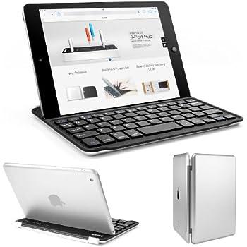 Anker iPad mini ウルトラスリムキーボードカバー iPad Mini/Mini Retina/Mini2/Mini3 に対応 (iPad Mini 4非対応) オートスリープ自動ON/OFF機能付