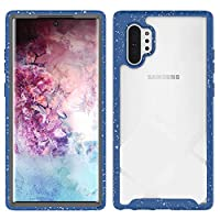 Samsung Galaxy Note 10 Plus シェル, Neat-JP クリエイティブ 設計 Dark Blue 耐久保護ケース バック シェル 〜と パウチ 側 保護 カバー の Samsung Galaxy Note 10 Plus