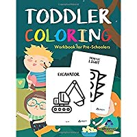 Toddler Coloring Workbook: Coloring Books for Toddlers by ArgoPrep【洋書】 [並行輸入品]