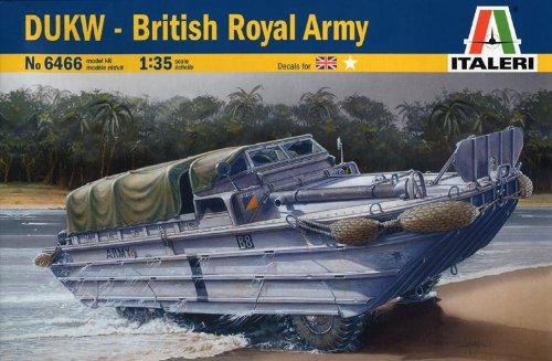 DUKW イギリス陸軍 38466 (タミヤ イタレリ 1/35 ミリタリーシリーズ 6466)