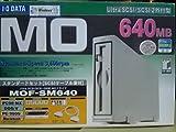 I-O DATA Ultra SCSI対応 640MB MOドライブ MOF-SM640 キャッシュ・ミレニアム搭載