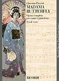 プッチーニ: オペラ「蝶々夫人」/リコルディ社/ピアノ・ヴォーカル・スコア