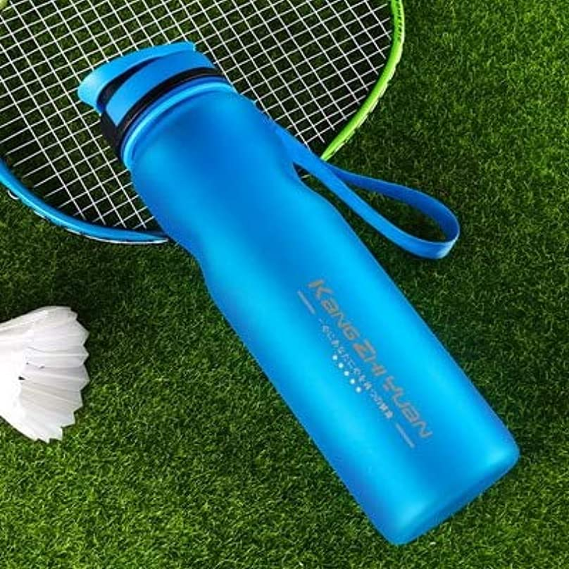 スポーツの試合を担当している人香ばしいアーサーコナンドイルSemperole - 1つのピース1L旅行キャンプスポーツシール自転車に乗っ漏れ防止大容量ボトルポータブル水カップスカイブルー
