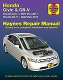 Honda Civic (01-11) & CR-V (02-11) Haynes Repair Manual (Haynes Automotive)