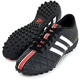 アディダス(adidas) ターフコート用 サッカースパイク 25.5cm パティーク 11 クエストラ TF B36033 コアブラック/ランニングホワイト/ビビッドレッド 国内正規品