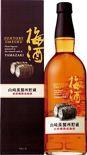 サントリー  山崎蒸溜所貯蔵 焙煎樽熟成 梅酒 750ml カ...