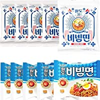 New激辛口ビビン麺 130gx5個+ パルド ビビン麺 130gx5個 paldo ビビム 輸入 韓国 食材 料理 乾麺 インスタントラーメン 辛い ラーメン 冷やし