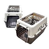 【 IATA 基準クリア】ペットキャリーバッグ50 ブラウン 猫用・小型犬用・小動物用にも(ねこ・猫・ネコ・いぬ・犬・イヌ)