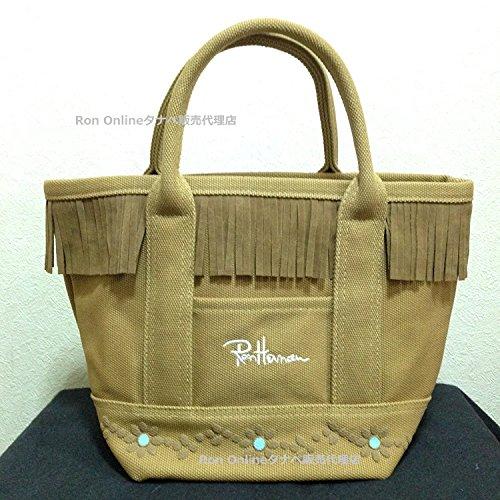 トートバッグ ロンハーマン フラワースタッズ RHC Ron Herman レディース バッグ 鞄 袋つき (カーキ) [並行輸入品]