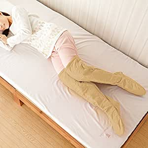 足元あったかグッズ 冷え性 寝るとき靴下 ひざ上 ぽかぽか 暖暖あったかくつろぎフットウォーマー ベージュ
