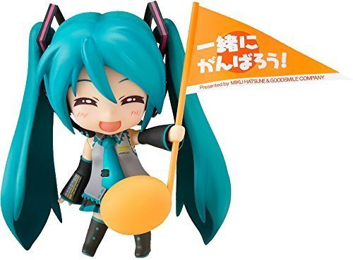 RoomClip商品情報 - ねんどろいど 初音ミク 応援ver. 約100mm (ノンスケール) ABS & PVC製 塗装済み 可動フィギュア (Cheerful JAPAN限定)