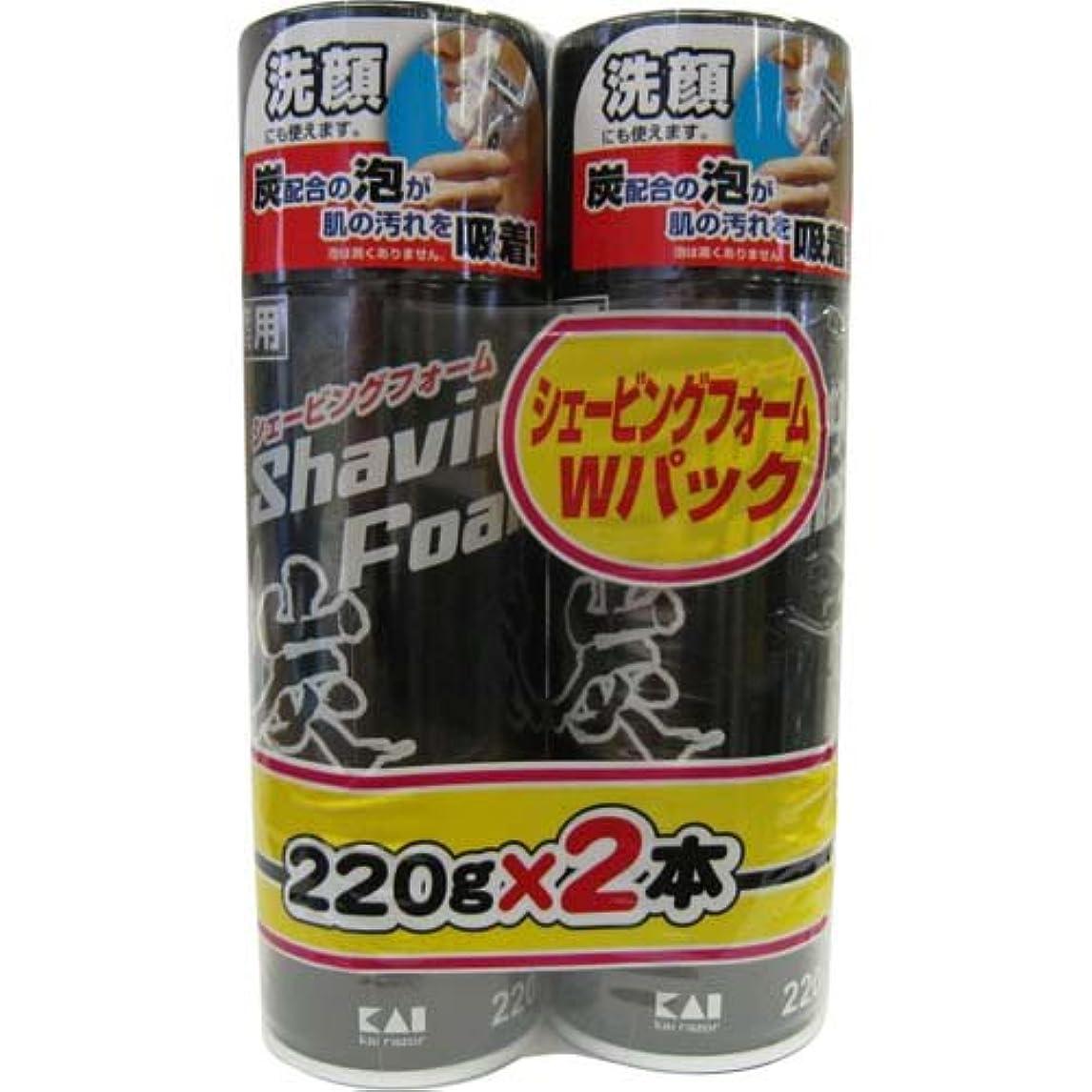 はぁ啓発する選ぶ貝印 炭フォームWパック YCSF-220X2