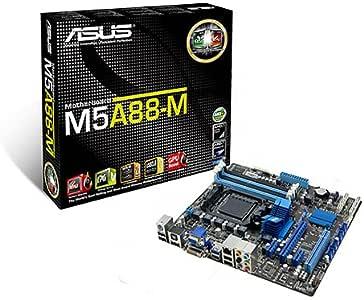 ASUSTek マザーボード AMD SocketAM3+/DDR3メモリ対応 Micro-ATX M5A88-M