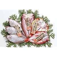 岡富商店 一夜干し「恵比寿」エテかれい、甘鯛、のどぐろ、れんこ鯛の詰合せ