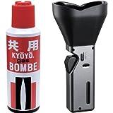 【おすすめセット】 TokyoPipe 共用ガスボンベ 120g 1個 + ペンギンライター お線香ライター せせらぎII ガス注入式 1個