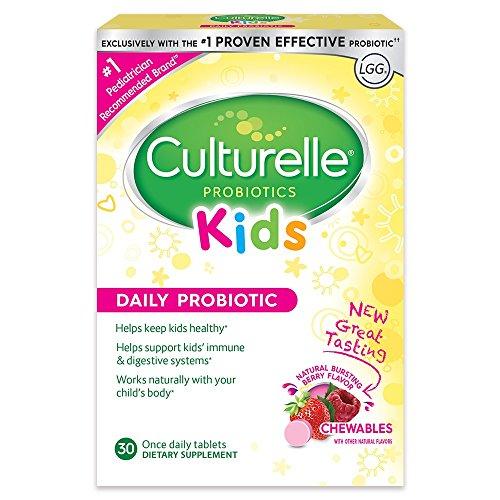 Culturelle - 子供たち! プロバイオティクス - 30チュアブル錠