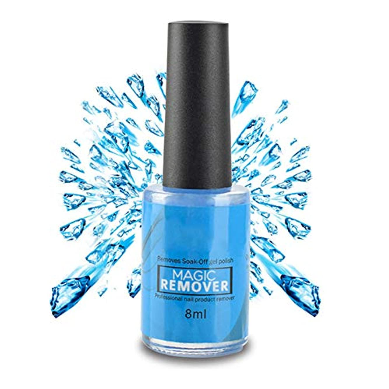 Symboat マジックリムーバーがネイルポリッシュを拭き取ると、ジェルプロフェッショナルバーストクリーン脱脂剤が除去されます
