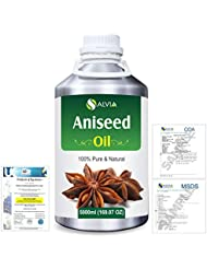 Aniseed (Pimpinella anisum) 100% Natural Pure Essential Oil 5000ml/169fl.oz.