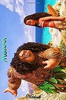 """Moana of Motunui: Disney Moana Themed Notebook Journal 6"""" x 9"""" I A Delight for all Kids"""