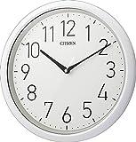 シチズン 防滴 防塵 クォーツ 掛け時計 アナログ スペイシーアクア799 防水 型IPX4相当 オフィス 白 CITIZEN 8MG799-003