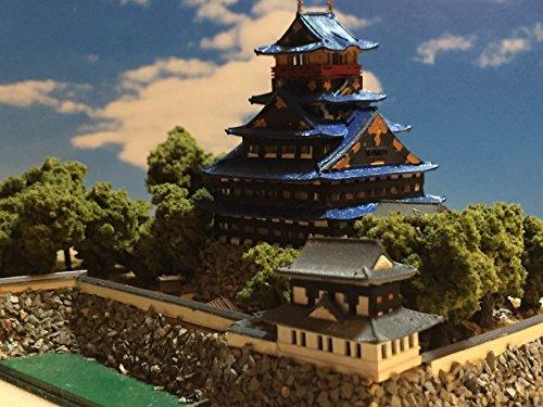 戦国の城 豊臣秀吉 伏見城 お城 模型 ジオラマ完成品 A5サイズ