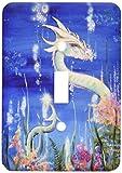 3drose LLC lsp _ 41483_ 1ドラゴンLoreホワイト水ドラゴン、単一切り替えスイッチ