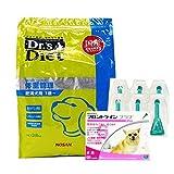 【PACK】ドクターズダイエット 体重管理 3.8kg & 犬用フロントラインプラスXS 5kg未満 6本(動物用医薬品)