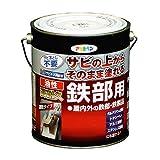 アサヒペン 油性高耐久鉄部用 白 1.6L
