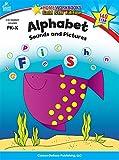 Alphabet Sounds and Pictures Grades Pk-k: Gold Star Edition (Homeworkbooks)