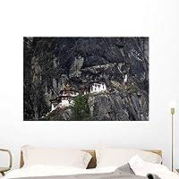 Wallmonkeys Taktshang Goemba Wall Decal Peel and Stick Graphic WM158681 (48 in W x 32 in H) [並行輸入品]