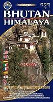 Bhutan Himalaya Map