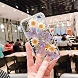 Apple x携帯電話ケースiPhone 7プラス花透明iPhone 8プラスシリコーンケースiPhone XS/iPhone XS Max永遠の花ソフトシェルのための小さな新鮮なデイジー