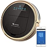 Proscenic 790T Robot Vacuum Cleaner, Robotic Vacuum Cleaner with APP & Alexa Voice Control, Visionary Map, Water Tank and Mopping, HEPA Filtration for Pet Fur and Allergens
