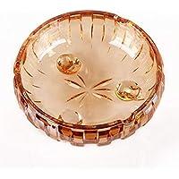 CKH ヨーロッパの彫刻灰皿創造的人格居間の傾向多機能ヨーロッパのガラス灰皿