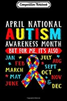 Composition Notebook: April Is National Autism Awareness Month Puzzle Mom s Journal/Notebook Blank Lined Ruled 6x9 100 Pages
