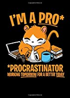 Notebook: Hamster Faul Procrastinate Joke Funny Gift 120 Pages, A4 (About 8,5X11 Inches / Letter), Graph Paper