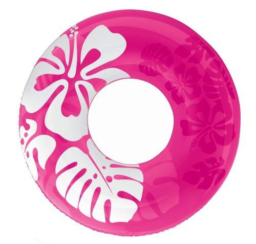 [해외]INTEX (인텍스) 클리어 컬러 튜브 91cm 핑크 59251 [일본 정품]/INTEX (INTEX) clear color tube 91cm pink 59251 [Japanese genuine]