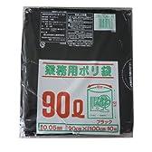 MJ-8業務用ポリ袋黒90L10P