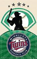 FINESTPRINT88 ミネソタ・ツインズ MLB 野球スポーツポスター 18インチ x 28インチ