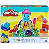 Play Doh - Cranky the Octopus Playset inc 5 cans & acc - Ages 3+