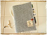 手帳カバーほぼ日手帳オリジナルサイズ対応バタフライタイプ ヒッコリーxマリン
