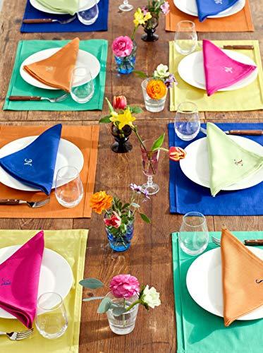 ブルーミング中西『テーブルナプキン無地デリシャスカラー』