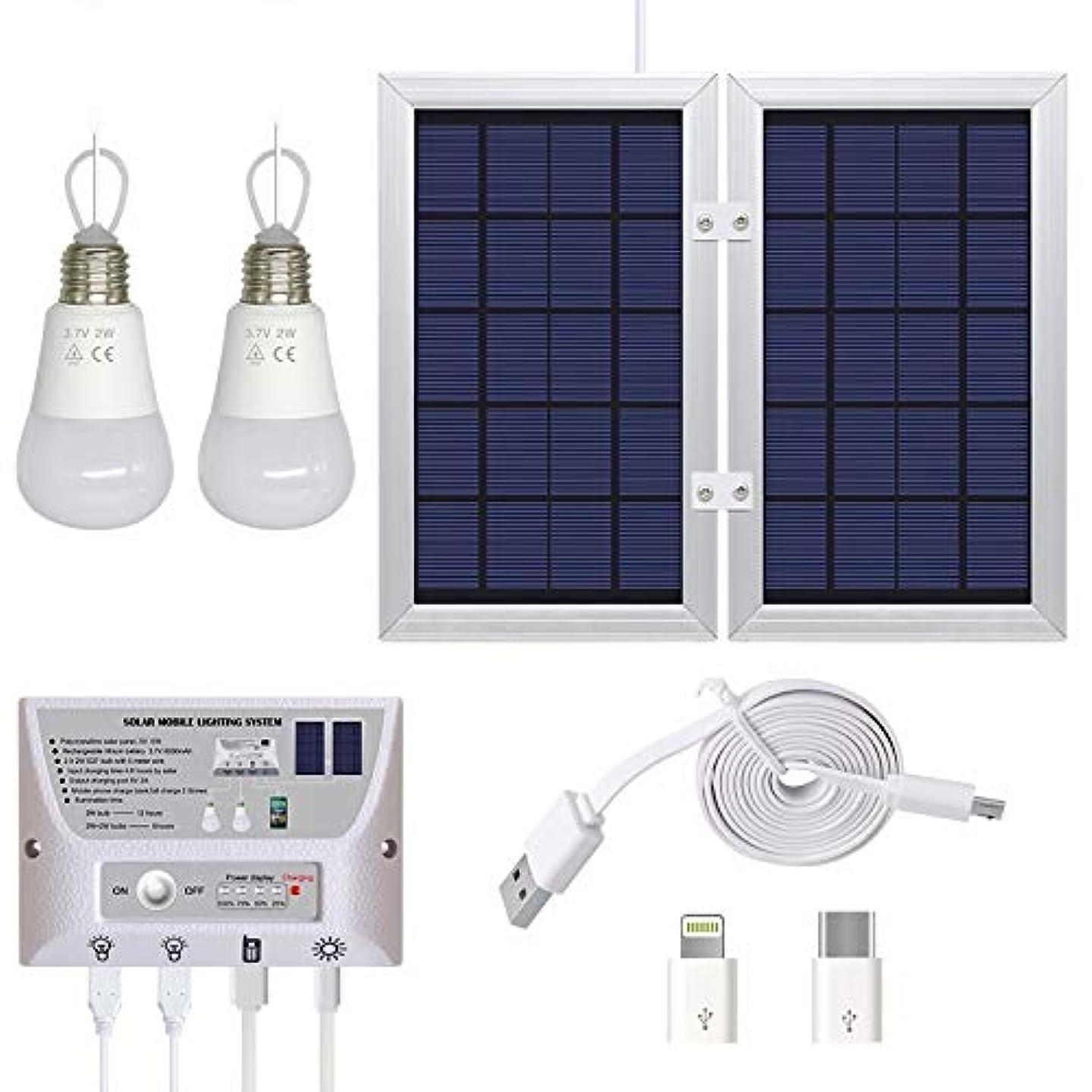 内側シェルター花輪LYgMV ソーラーライト屋外用モーションセンサーライト、高効率ソーラーパネル付き、防水IP65、広い照射角、設置が簡単、キャンプ用、緊急用、中庭、携帯用照明