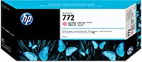 HP 772 純正 インクカートリッジ ライトマゼンタ 300ml CN631A