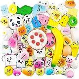 WUKADA スクイーズ 50個 セット 可愛い おもちゃ 低反発 ケーキ い パンストレス解消グッズ ストラップ 香りつき 子供 プレゼント玩具 squishy
