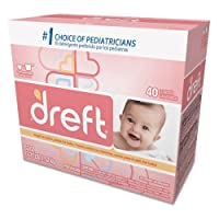 Dreft Ultra Powdered Laundry Detergent, Original Scent, 53 oz Box - four 53-oz boxes. [並行輸入品]