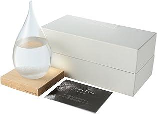 Perrocaliente 正規品 ストームグラス テンポドロップ インテリア おしゃれ 温度 湿度 マイクロファイバークロスセット